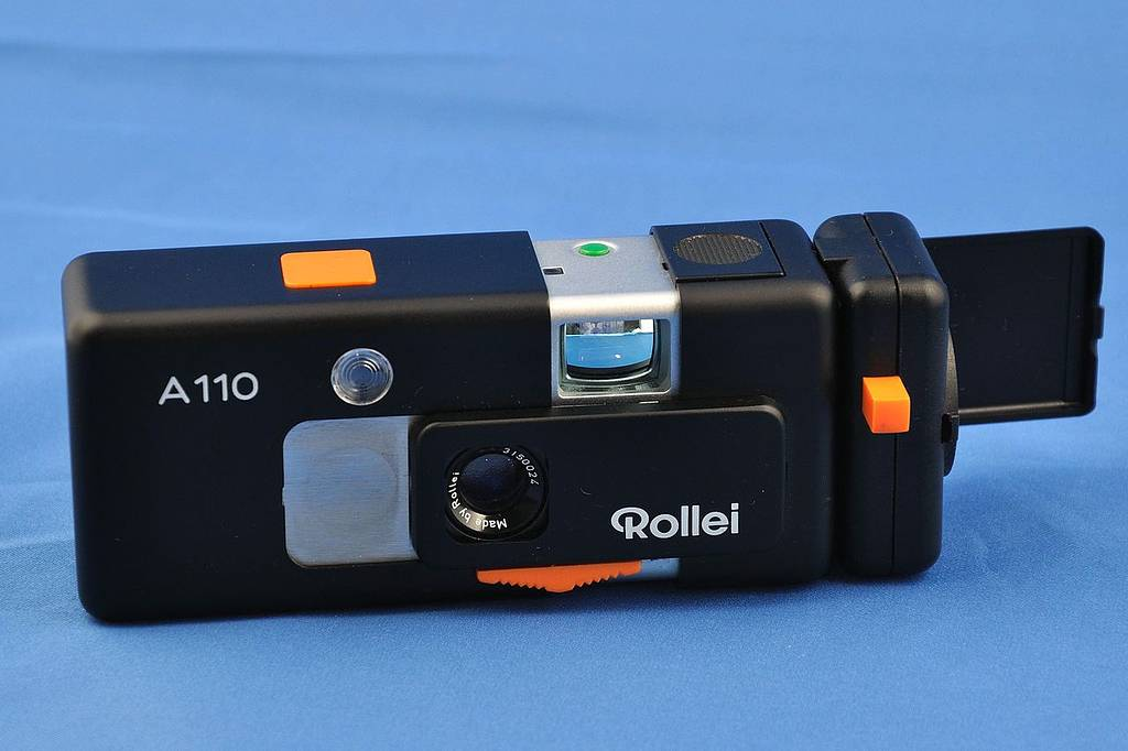 Rollei A110:  One of the Best Subminiature Cameras