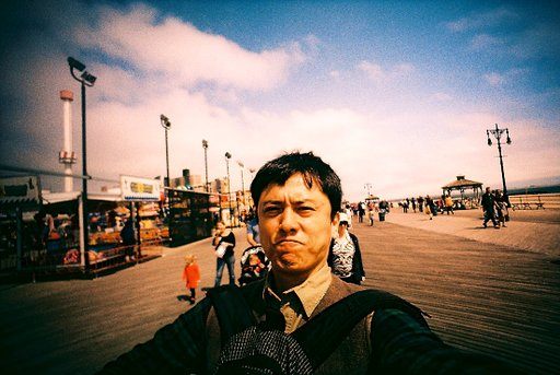 Lomo Walk at Coney Island's Boardwalk