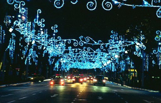 Orchard Road Gleams for Christmas in Singapore