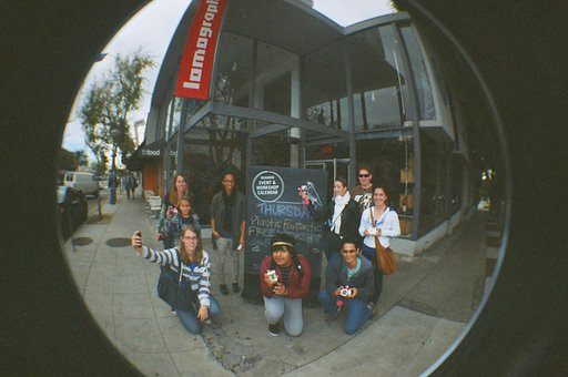 Re-Cap of Plastic Fantastic  (New Year's Resolution: Learn Something New Everyday) at the Lomography Gallery Store LA!