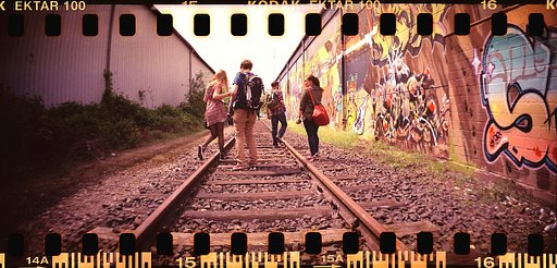 Let's take a LomoWalk in Wien!