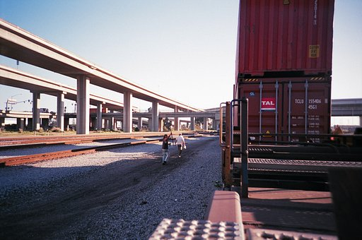 Freight Train Adventure with the Lomo LC-A+
