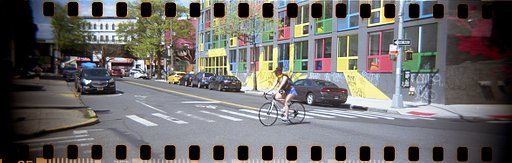Jacob Carlson's Wide in Color Shots of Brooklyn With the Hydrochrome Sutton's Panoramic Belair Camera