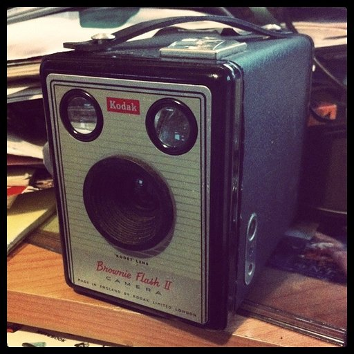 Kodak Brownie Flash II (UK version)