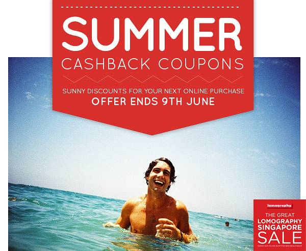 Singapore Summer Cashback Coupons! - Buy Today & Get Up To 32 SGD Off Your Next Online Purchase!
