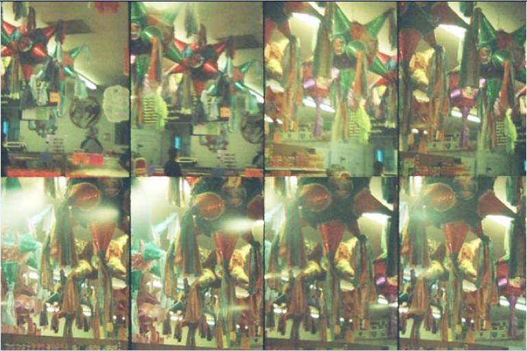 Christmas Traditions: Piñatas During Christmas Posadas in · Lomography