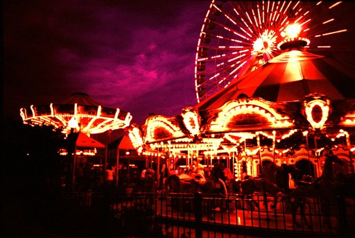 Navy Pier, Chicago, Illinois - Summer Road Trip 2009 - Lomostop #16