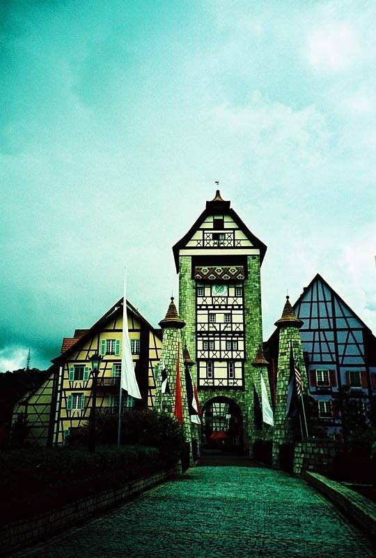 Colmar Tropicale , The French-themed attraction.