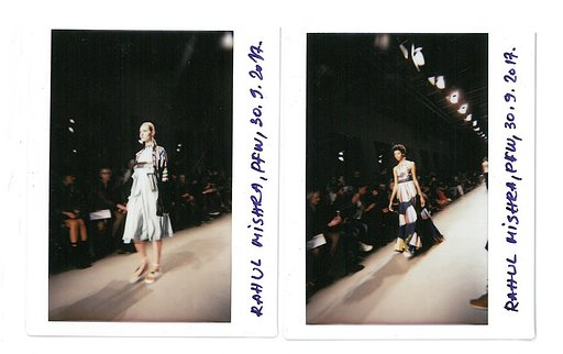 Front Row at Paris Fashion Week 2017 with DESIGNSCENE and the Lomo'Instant Wide