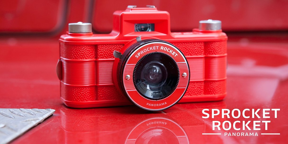Sprocket Rocket Red 2.0 齒孔全景相機