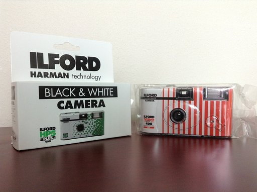 Ilford Disposable B&W Cameras: XP2 Super