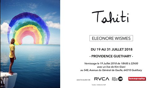 "L'expo ""Tahiti"" d'Eléonore Wismes s'installe à Guéthary"