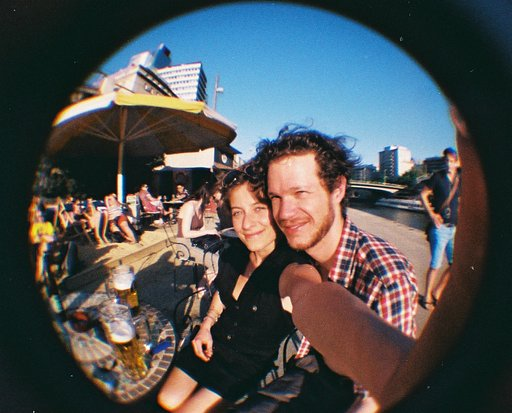 My Baby and I: Fisheye Baby 110 Portrait Shots