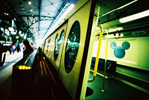 My First Lomo Experience in Disneyland, Hong Kong
