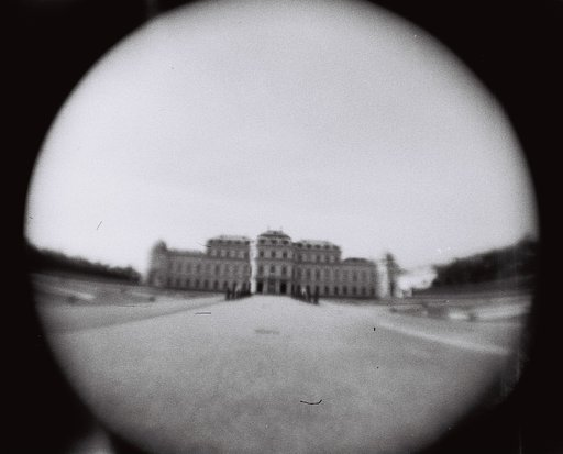 To The Belvedere Gardens With The Fisheye Baby 110