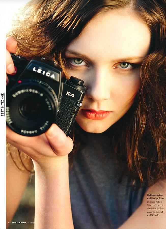 Die Leica R4 in der PHOTOGRAPHIE 11/2012