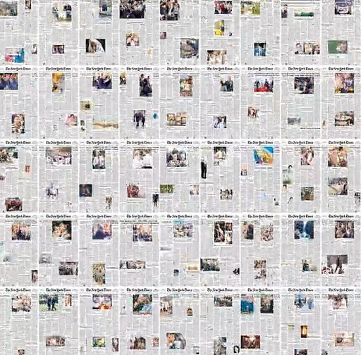 Watching the Growth & Changes of Photography in NY Times' Front Pages