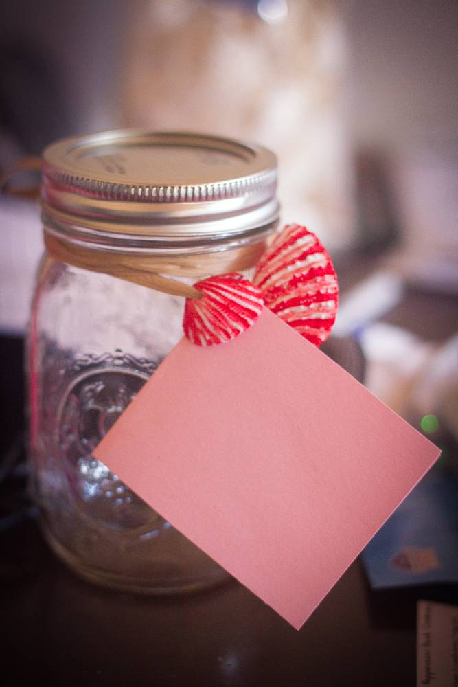 Creative Corner: Glass Gift Jar