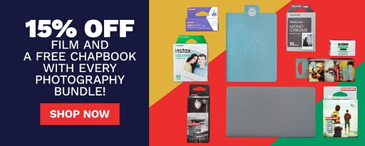Free Chapbook and Up to 20% Off Film with Every Photography Bundle!