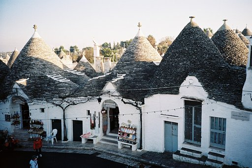 LomoLocations: Alberobello in Puglia, Italy