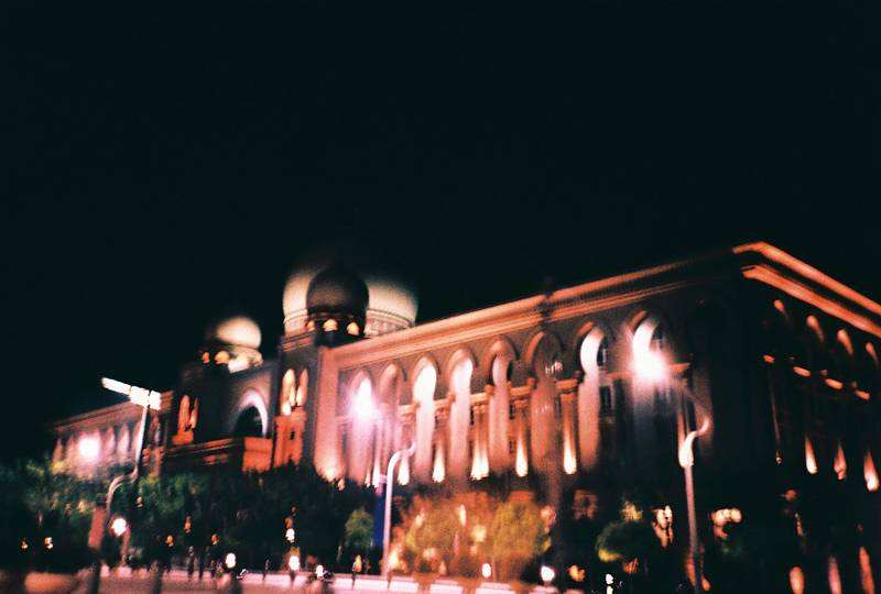 The Night Lights Of Putrajaya