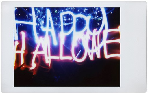 A Happy Halloween Greeting Courtesy of the Lomo'Instant