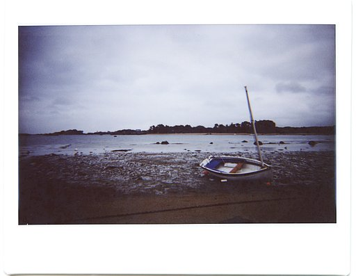 Enjoy The Silence of Brittany Coastline with the Lomo'Instant Wide