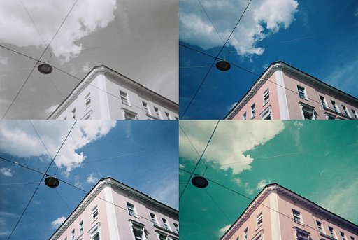 Lomography Film Comparisons with the Simple Use Reloadable Film Camera