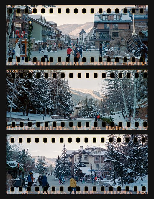 Panoramic Contact Sheets With the Sprocket Rocket by Franklin Ruiz