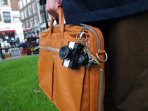 Trend Report: Tiny Cameras Spotted On The Chic Streets Of London
