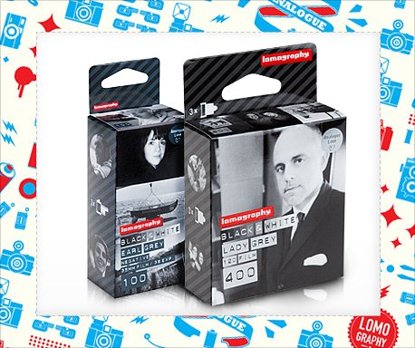 2nd December Only – 23% Off any Black and White Films & any LomoFolio Bag