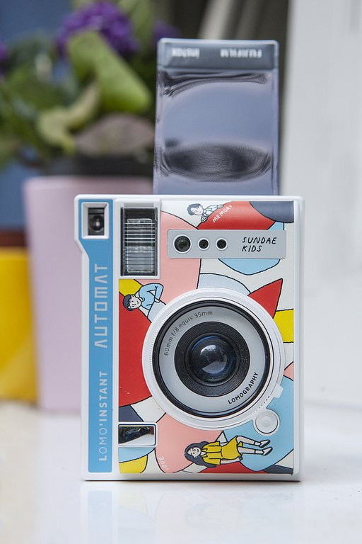 Limited Edition: Lomo'Instant Automat in collaborazione con Sundae Kids !