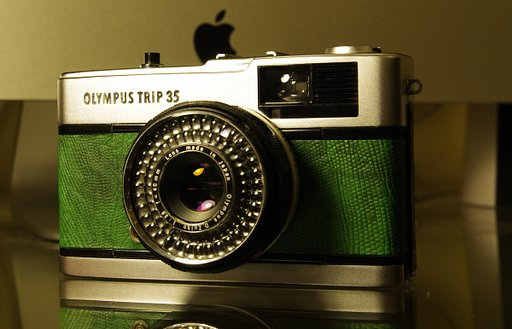 Fix and Refurbish an Olympus Trip 35