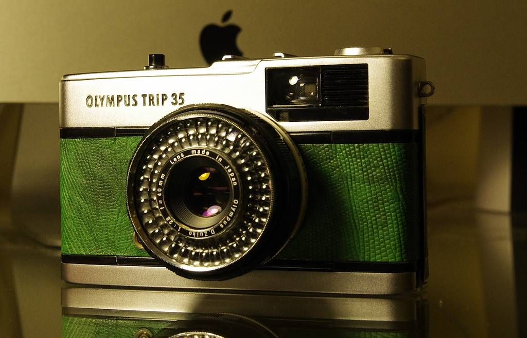 How to Fix and Refurbish an Olympus Trip 35