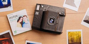 Lomo'Instant square black