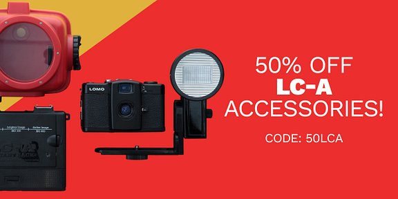 50% Off LC-A Accessories!