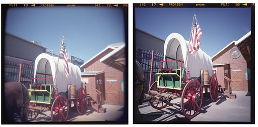 Apples and Oranges: Shooting with the Lomo LC-A 120 and the Holga N