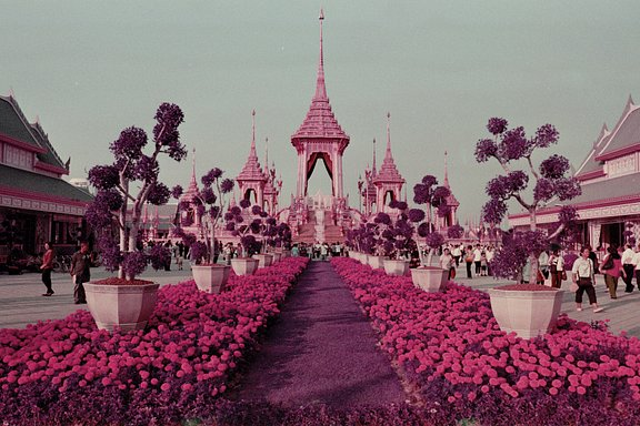 Kevin McElvaney Paints Bangkok in Ultra Violet with the LomoChrome Purple