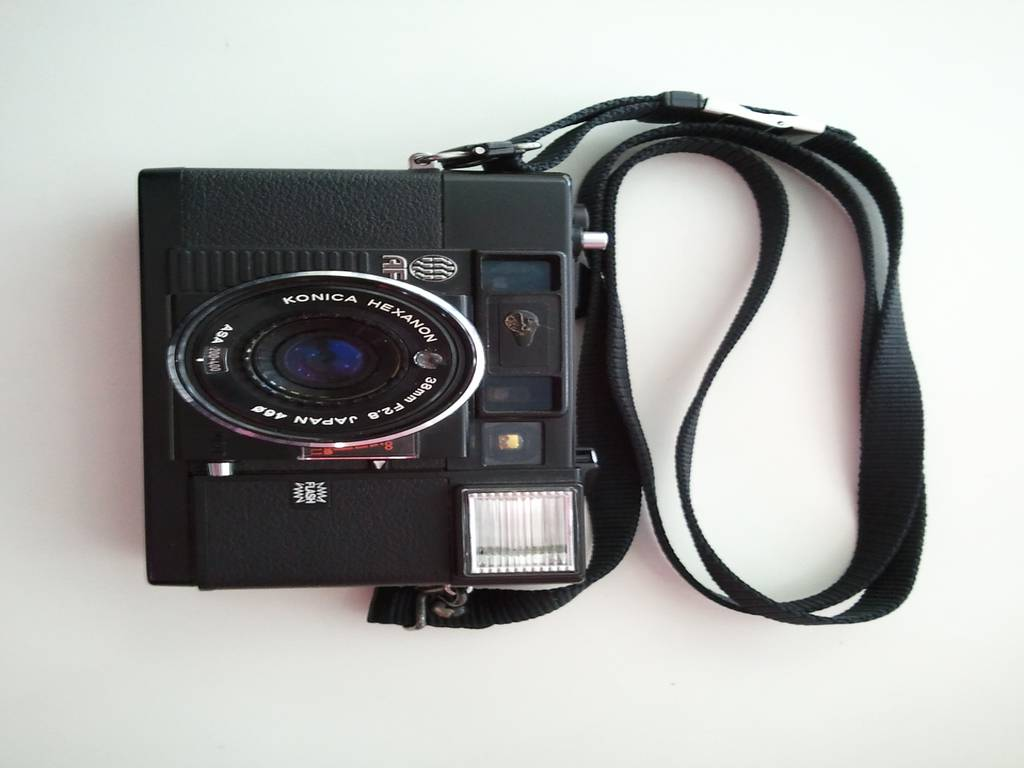 My first camera find, the Konica C35 AF