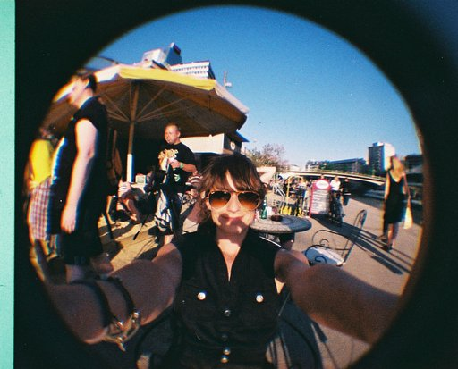 My Fisheye Baby 110 and Me: Diana