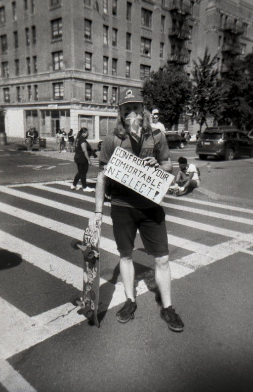 A Protest on Wheels: Joan Michel's Skaters With a Message
