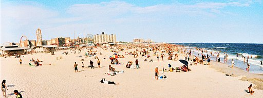 Places to Go for Traveling Lomographers: Coney Island Beach & Boardwalk