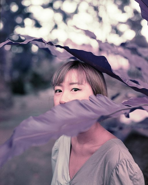 Singapore in Purple: Ahmad Lutfi Tests the LomoChrome Purple Film