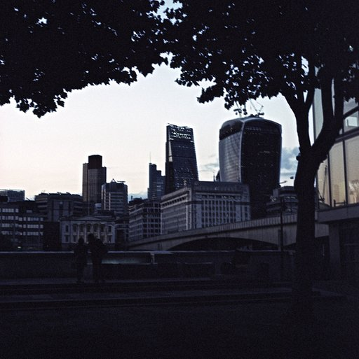 Fresh from the Lab: Shooting London at Dawn with Fuji Provia 100