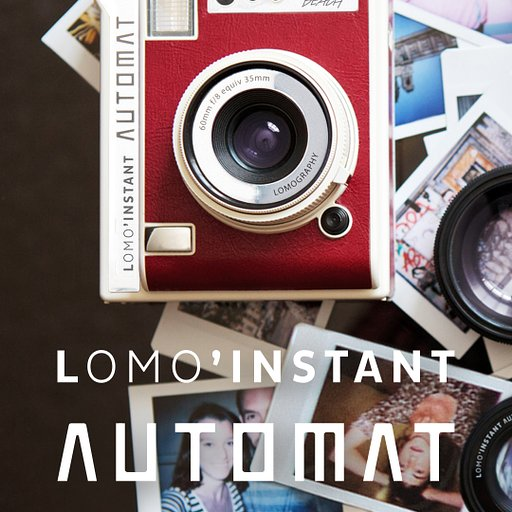 Purchase the most versatile instant camera, the Lomo'Instant Automat in the shop now!