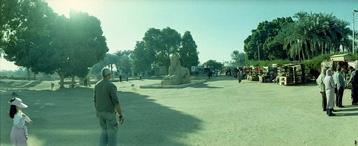 Colossal Statue of Ramses II in Memphis, Cairo