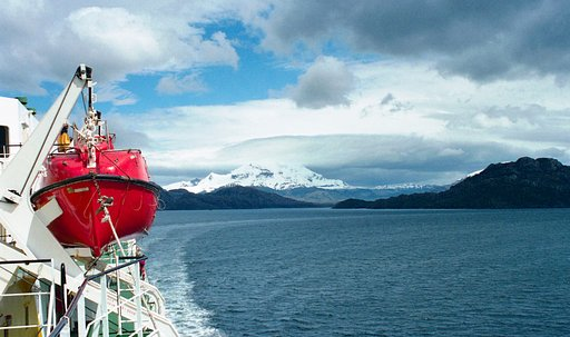 Boattrip for One: Puerto Montt to Puerto Natales, Chile