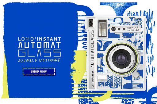 Lomo'Instant Automat Glass Assemble/Configure Edition