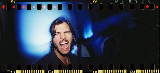 Ashton Kutcher Shot With the Sprocket Rocket Camera at SXSW