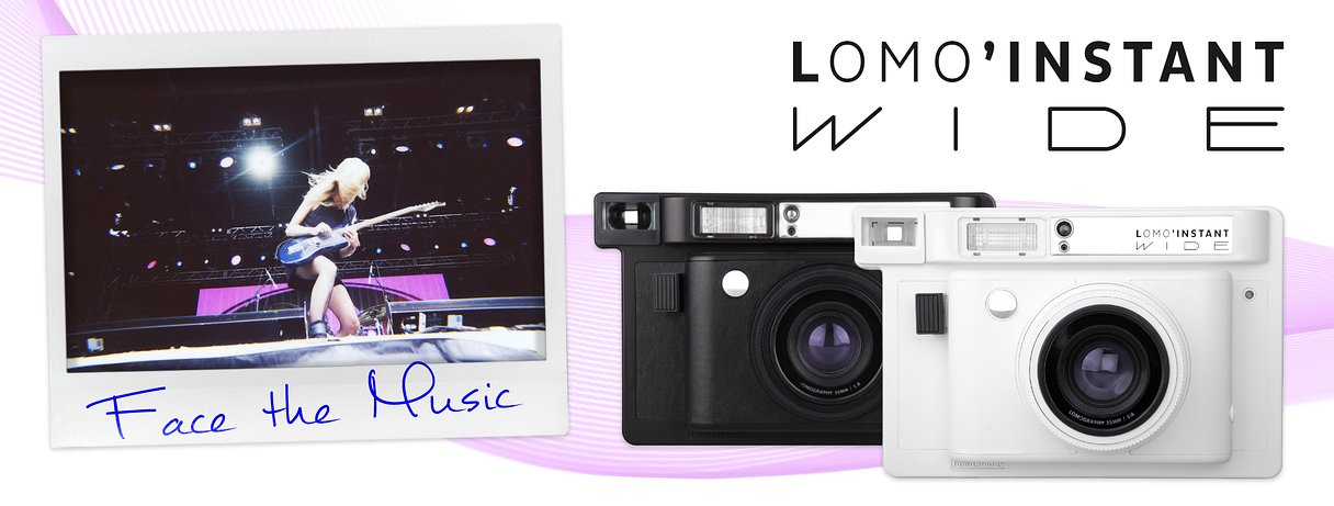 Face the Music with the Lomo'Instant Wide